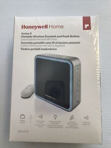 Honeywell 9 Series Wireless Portable Doorbell with Halo Light and Push Button