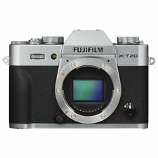 Near Mint! Fujifilm X-T20 Silver Body Only - 1 year warranty