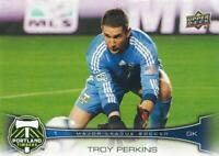 2012 Upper Deck Major League Soccer Base Common Cards Timbers FC #132 - #139