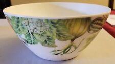 VINTAGE Fruit THEMED PLASTIC Bowl EXCELLENT CONDITION