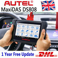 Autel MaxiDAS DS808 Auto Diagnostic Tool OBD2 Fault Code Reader Scanner MS906 UK