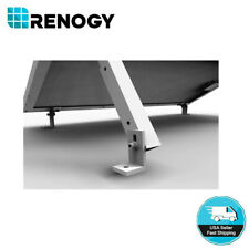 Renogy Solar Panel Mounting Flat Roof Tilt Mount Aluminum Adjustable Bracket