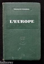 L'EUROPE (MOINS LA FRANCE) - 1938/1939 - GEOGRAPHIE POLITIQUE ANNEXION ALLEMANDE