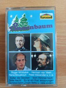 MC Kassette Oh Tannenbaum, Weihnachten , Gott , Whittaker,  Veen Mouskouri...