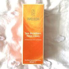 WELEDA Sea Buckthorn Hand Cream, 50ml. Brand New Lotion