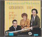 C.D.MUSIC E250 HE LOVES AND SHE LOVES : GERSHWIN CD