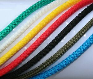 Braided Rope Line Washing Clothes Pulley Polypropylene PP 4mm Polyrope Cord Tie