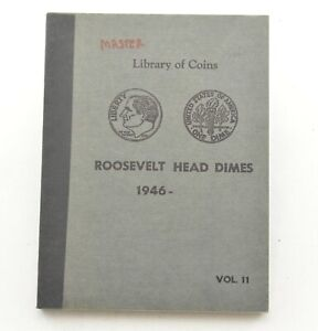 48 1946-1964 Roosevelt Dime Collection Album Set *785