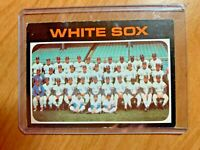 1971 Topps #289 Chicago White Sox Baseball Card, Excelent Condition