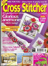 Cross Stitcher Issue 69 Anemones Spring Lambs Beach Combers Jungle Fun Gardens