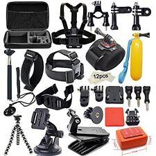 Outdoor Sports Camera Accessories for Gopro 6 5 4 Sj4000 Sj5000 Sj6000 Xiaomi yi