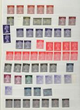 GB - Stock book mix of pre-decimal machin mainly MNH postage stamps