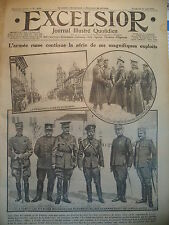 WW1 N° 2039 DOUBNO LOUTSK PRISES RUSSE FRONT DU TRENTIN JOURNAL EXCELSIOR 1916