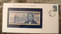 Banknotes of all Nations Mexico 1973 50 Pesos UNC P 65a.1 Serie BU