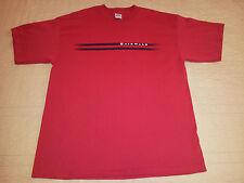 INV345 - Airwalk Shoe Co T Shirt XLarge XL Stripe Style Graphic EUC Skate Shoes