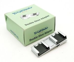 Voigtlander Double Shoe Adapter, Mint & Boxed - UK Dealer