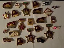 Vintage  Soviet Era  Pins . Lot of 25