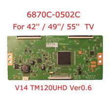 T-con board 6870C-0502C V14 TM120UHD Ver0.6 lg tv card for 42'' 49'' 55'' TV