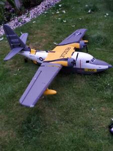 Radio Controlled plane flying boat Albatross