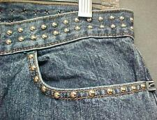 Future Basics Slight Boot Cut Rock Blast Studded Jeans Women's Size 7 31x33