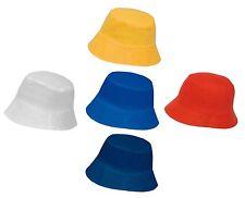cappellino miramare cotone tinta unita leggero copricapo da spiaggia parasole
