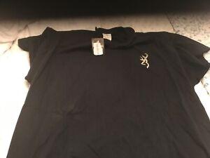 Browning Hunting Black 2-Sided XXL T-Shirt