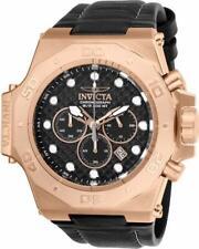 Invicta Men's Akula 23104 Rose-gold Leather Quartz Diving Watch