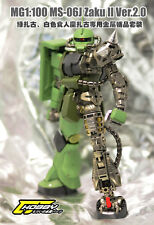 CJHOBBY Metal Details Part Set MG 1/100 MS-06J ZAKU II VER.2.0 Gundam Kit