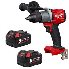Milwaukee M18FPD2-0 18v Li-ion GEN3 BRUSHLESS PERCUSSIONE Combi FUEL TRAPANO 5Ah