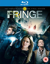 FRINGE - SEASON 5 - BLU-RAY - REGION B UK