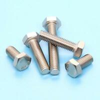 M4 M5 M6 M8 M10 Hexagon Hex Head Screws Bolts A2 / 304 Stainless Steel DIN933