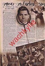 Voila n°284 du 29/08/1936 Lucky Luciano Mafia Braconnage Barrage Chambon