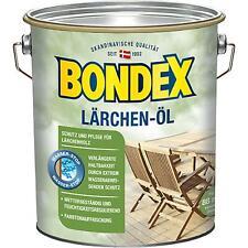 Bondex Lärchen Öl Holzschutz Holzpflege, 4 Liter