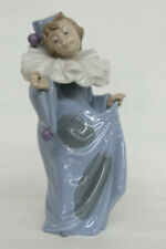 Lladro Nao Daisa Circus Dreamer Clown Pierrot Girl Porcelain Figurine 1085B