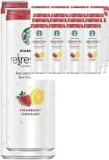 Starbucks Refreshers Sparkling Juice Blends, Strawberry Lemonade with