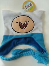 Adventure time knit winter hat  with tassels Cartoon Network Finn character