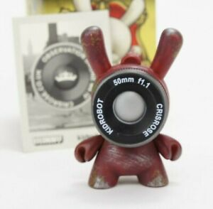 """Kidrobot Dunny 3"""" Side Show Cris Rose Drone Red Art Toy Figure"""