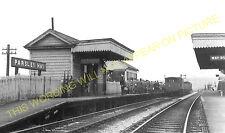 Parsley Hay Railway Station Photo. Hurdlow to Hartington and Friden Lines. (3)