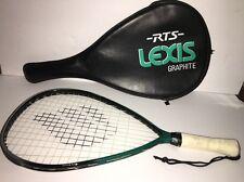 Ektelon Lexis Racquetball Racquet Green/Black W Cover Tested New Grip Handle