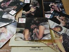 FANNY HILL ! jeu 16 photos cinema lobby card sexy erotique ,  no histoire d'o