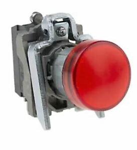 SCHNEIDER XB4 BVB4 Electric Harmony Red LED Pilot Light, 22mm Cutout 24V 18 mA