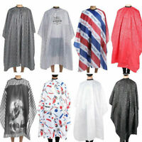 Salon Haircut Cape Waterproof Hairdressing Barber Hair Gown Wrap Apron Free Ship