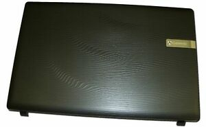 60.WSG02.002 Genuine Gateway LCD Back Black Cover Assembly 15.6 Inch For NV51B