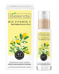 Bielenda Bio Vitamin C Brightening Anti-Wrinkle Face Serum 30ml