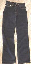 Baby Phat Women's Black Corduroy Boot Cut Jeans Size 9 EUC