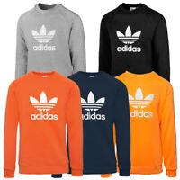 Adidas Trefoil Crew Sweatshirt Men Herren Originals Pullover Freizeit Shirt