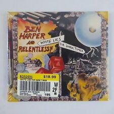 Ben Harper and Relentless 7, White Lies For Darker Times, CD 2009 Virgin, New