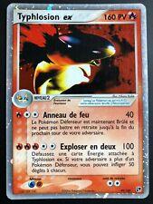 Carte Pokemon TYPHLOSION 99/100 EX Holo Bloc EX Française Très Proche du NEUF