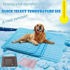 Pet Cooling Mat Non-Toxic Cool Pad Pet Bed Cold For Summer Dog Cat Puppy Mats