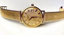 Vintage Longines 18k 5 Star Admiral Watch 34.6mm w 14k Solid Gold Bracelet 61.3g